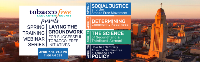 April 7, 2020 Social Justice and the Smoke-Free Movement